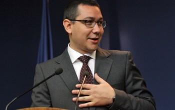 Victor Ponta prim-ministru
