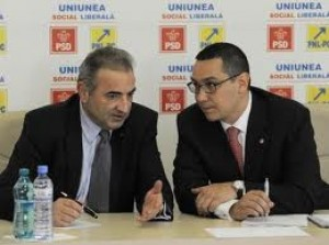 Victor Ponta si Florin Georgescu