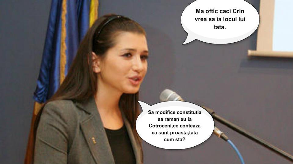 EBA - Elena Basescu spune nu dictaturii parlamentare